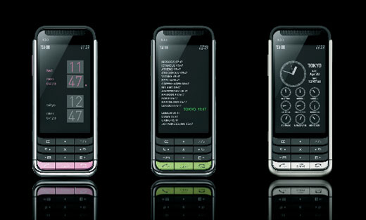 au最新携帯 iida『g9』は、ココ最近の携帯電話デザインで一番いいんじゃない