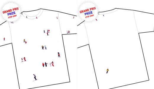 ユニクロ、「UT GRAND PRIX 09」大賞決定「ski」Tシャツ 〜商品化20作品〜