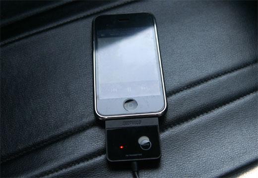 iphone3G S、車で音楽(ipod)を聞く為の、最良のFMトランスミッター探し