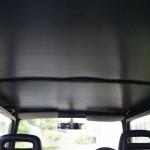 ジムニーの天井(車内)が剥がれて汚いので自分で張り替えてみました。1,000円ちょっとでできてしまう格安DIY。