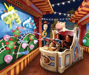 新作・続編「トイストーリー3」の予告編ムービー&ディズニーのもうひとつのビジネス ディズニーシーの新アトラクション「トイストーリーマニア!」
