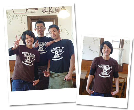 先日完成した、「パスタと肴 MoRimoTo」Tシャツ、とってもいい感じの写真が届きました。