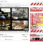 YouTubeにアップされた音楽・映像素材のみをネタにしMixしたThruYou。音楽とデザインどちらもMixしてる点がユニークでカッコイーっす。