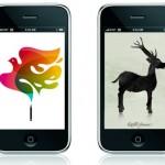 海外のシンプルでキレイなブログ「Poolga」さんで iPhone & iPod Touch用のイラスト壁紙を紹介していたので、10個選んでみました。