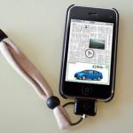 iPhone落しそうになってヒヤッとした事ある人におすすめ!Slimplism × CHUMS iPhoneストラップ(オリジナル)とpoddities直付けストラップ。