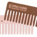 髪に関わる仕事をしているヘアメイクさんや美容師(理容師・床屋)さんの名刺を頼まれたら、一度は試してみたいオモシロアイデア名刺〜その2