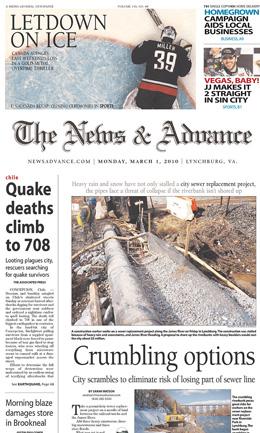 デザインレイアウトがキレイだなーと感じる、ある日の世界の新聞いろいろまとめ〜世界の新聞一面を毎日紹介するサイトNewseumより。