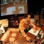 奥田民生の公開レコーディングツアーひとりカンタビレSHIBUYA-AXの模様が、本日生ストリーミング配信されてます〜♪現在ドラム録音中。