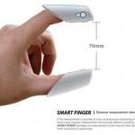 """両手の指にはめて手を伸ばせば2つの間の距離がわかる!画期的メジャースケール""""SMART FINGER(スマートフィンガー)""""紹介。実現して欲しい技術。"""