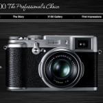 """アンティークカメラ風なデザインが手になじみそうな、富士フイルムのコンパクトデジカメ """"FinePix X100""""のターゲットはきっとR35世代!"""
