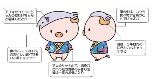 ちゃん あゆ ころ 厚木市マスコットキャラクター「あゆコロちゃん」着ぐるみの使用について