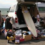 「七里ケ浜フリーマーケット」「新江ノ島水族館 中部駐車場屋上フリーマーケット」ハシゴしてきました。