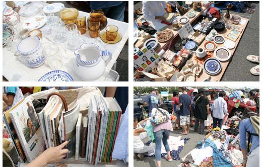 8月中お休みだった七里ヶ浜フリーマーケットが来週の9月10日 (土曜)からスタート!