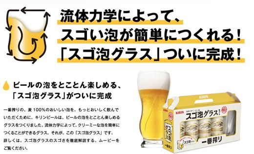 ビールがめちゃくちゃ美味そうに見える、スゴい泡が簡単につくれる「スゴ泡グラス」がほしい!