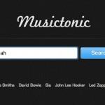 """BGMにおすすめ!お気に入りのアーティスト名を入れるだけでYoutubeの楽曲を連続再生してくれるミュージックトニック""""musictonic""""っていいね!"""