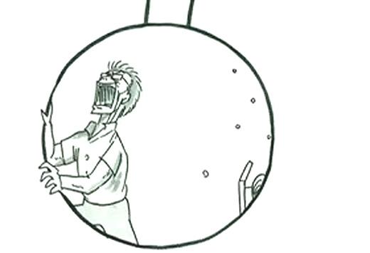 心に響くパラパラ漫画、鉄拳の「振り子」がスゴイ!