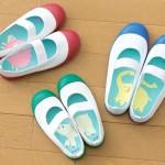 新入学の子供たちに買ってあげたい!靴や上履きの、左右を間違えにくい「合わせ絵中敷き」。