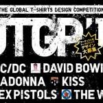 ロックTシャツグランプリ審査員がAC/DC , DAVID BOWIE , MADONNA , KISS , SEX PISTOLS , THE WHO!ユニクロTシャツデザインコンペUTGP'13