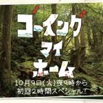 宮崎あおい民放の連ドラ10年ぶり、山口智子16年ぶりの出演、10月からのフジテレビ系連続ドラマ『ゴーイングマイホーム』が面白そう!