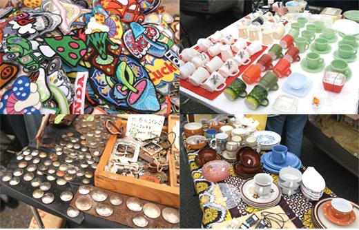9月8日(土)から「七里ヶ浜フリーマーケット」が再開されます。気になる横田基地側の福生のフリマ。