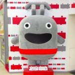 東急東横線 渋谷駅改札内に佇む東横線のゆるキャラマスコット人形の写真撮ってきました。趣味はダイエット(軽量化)らしい…