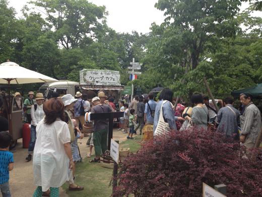 植物、古材、アンティーク、インテリア、雑貨の集まる『Go Green Market 2013』初日(6/1)行ってきました。