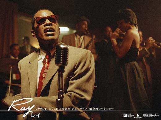 ジャズ、ブルース、R&B好きな人は必見!レイ・チャールズの伝記映画「Ray/レイ」!