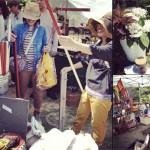 ここ、日本?と思うぐらい素敵なシーンいっぱいのGo Green Market 2013の様子が画像や動画で閲覧できます。
