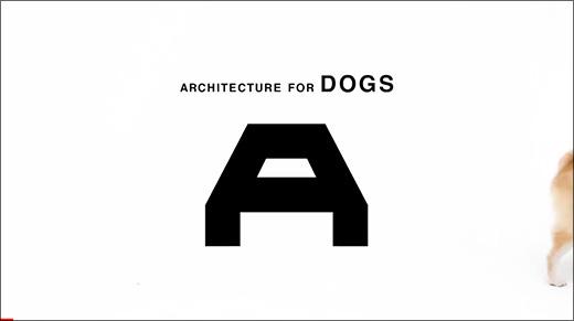 六本木で開催中!「犬のための建築〜ARCHITECTURE FOR DOGS」展に行って来た。