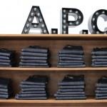 A.P.C.の履き古したジーンズを店頭に持って行くと、新品のジーンズが半額で買える!