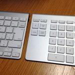 iMacのwirelessキーボードにテンキーがついてないので、Belkin YourType Bluetooth Wireless Keypad購入しました。