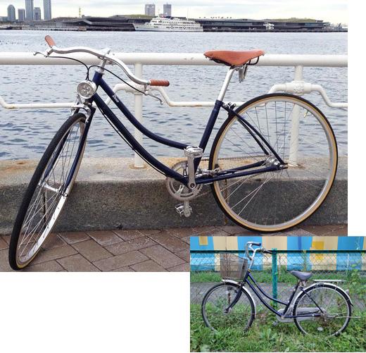 ママチャリをおしゃれな自転車 ...