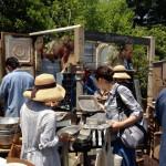 植物、古材、アンティーク、インテリア、雑貨が集まる『Go Green Market 2014』初日5/31(土)行ってきました。駐車場情報。