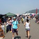 七里ヶ浜フリーマーケットは、8月はお休みで9月13日から再開です。