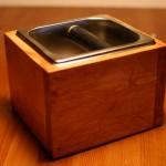 楽しい木工!!エスプレッソマシーンのコーヒーカス受け箱ノックボックスのケースを作りました。