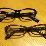 免許の更新ギリッギリだったので、泰八郎謹製と小竹長兵衛フレームのメガネを買いましたヨ。